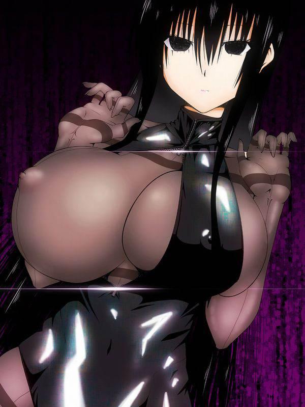 【これかい?】洋服の前を開けて片乳見せてくれてる女子達の二次エロ画像【ポロン】【36】