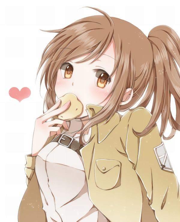 【進撃の巨人】サシャ・ブラウスのエロ画像と、芋とか食ってる画像【21】