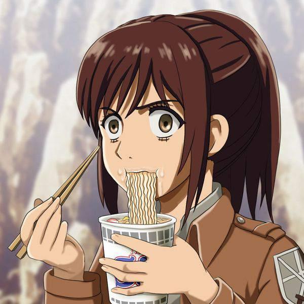 【進撃の巨人】サシャ・ブラウスのエロ画像と、芋とか食ってる画像【49】
