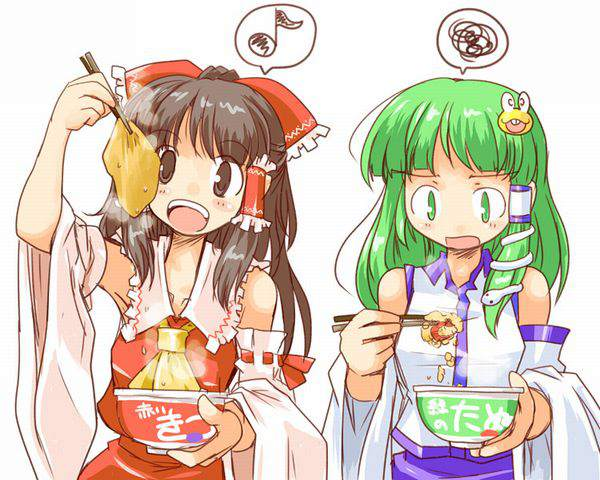 【マルちゃん】赤いきつねと緑のたぬきと美少女の二次画像【11】