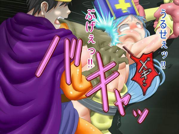 【リョナレイプ】殴りながら犯してる二次エロ画像【12】
