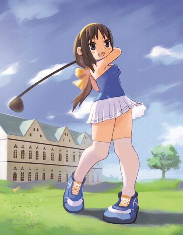 【オジサンファン多そう】女子ゴルファーの二次エロ画像【27】
