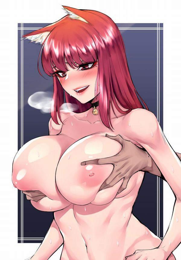 【河西智美】後ろから生乳揉まれてる二次エロ画像【25】