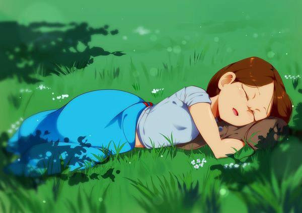 【涅槃図】サガットステージの寝仏みたいな女子達の二次エロ画像【7】