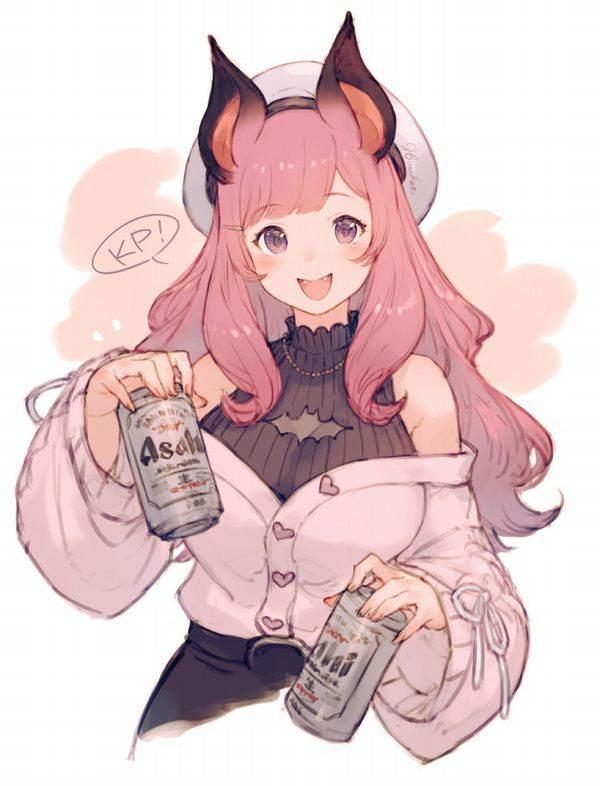 【冷えてるかー?】缶ビールと女子の二次エロ画像【4】