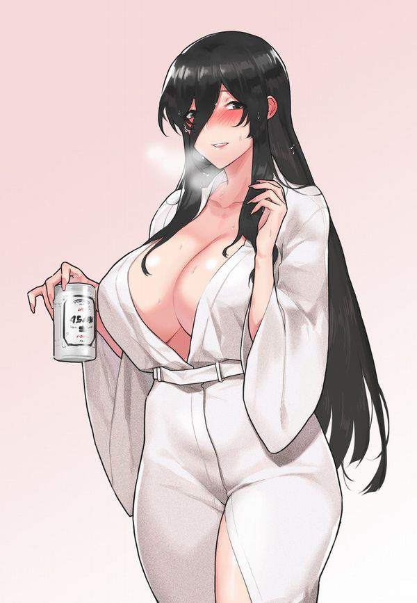 【冷えてるかー?】缶ビールと女子の二次エロ画像【9】