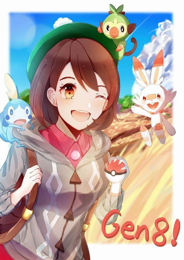【ポケモン剣盾】女主人公のエロ画像【ポケットモンスター ソード・シールド】【18】