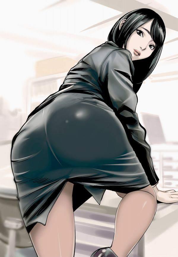 【日常の中のエロス】オフィスで働く女の子達の何気ない二次エロ画像【19】
