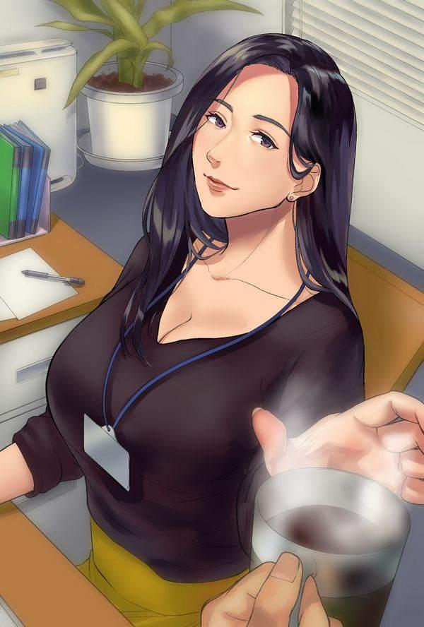 【日常の中のエロス】オフィスで働く女の子達の何気ない二次エロ画像【34】