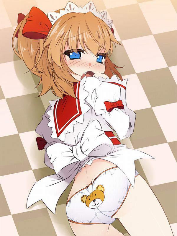 【そんな餌で】クマちゃんプリントのパンツを履いた女子達の二次エロ画像【俺様が釣られ】【30】
