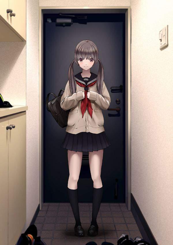 【いらっしゃい】玄関先の女子達を眺める二次エロ画像【34】