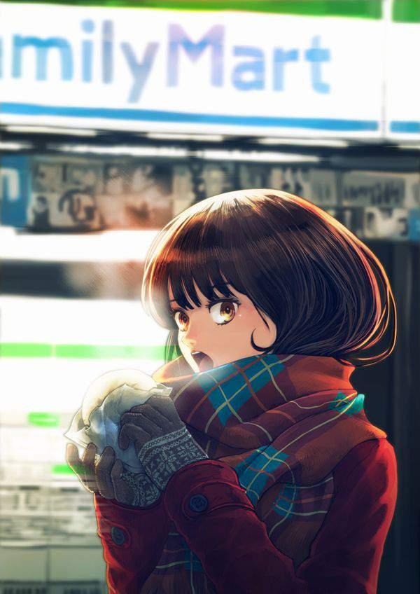 【日常生活】コンビニで買い物する女の子達の二次画像【23】