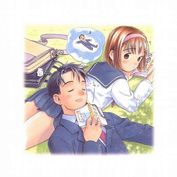 【オナラに注意】女の子のお尻を枕にしてる二次エロ画像【8】