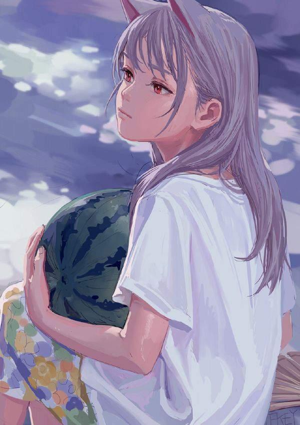 【ウェミダー!!】海とスイカと水着女子の二次エロ画像【28】