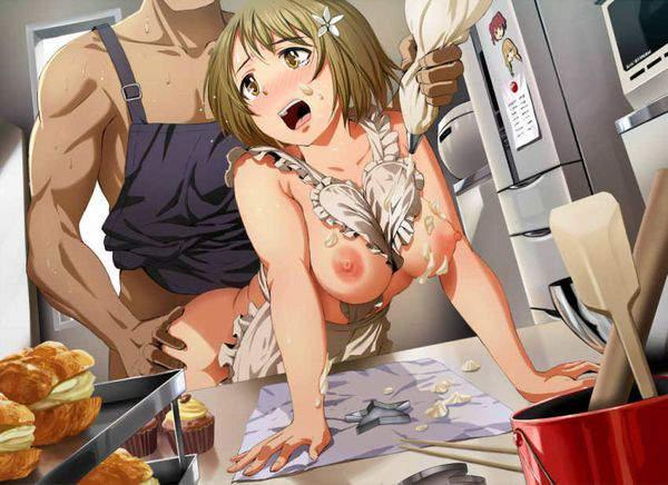 【手切りそう】料理しながらセックスしてる二次エロ画像【油こぼしそう】【17】