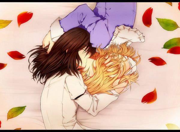 【スパイダーマンの名シーン】逆さキスしてる2人の二次画像【7】