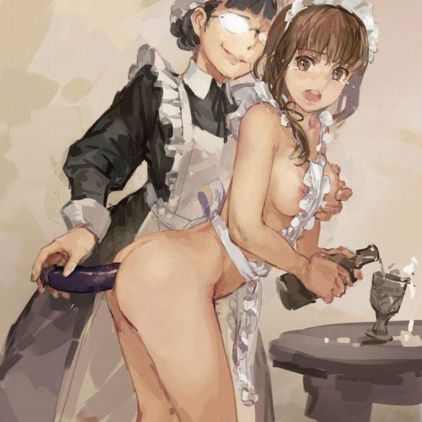 【お盆だから】ナスと女の子の二次エロ画像【25】