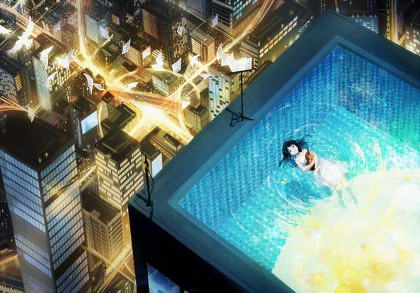【今年も流行】ナイトプールとインスタ女子の二次エロ画像【40】