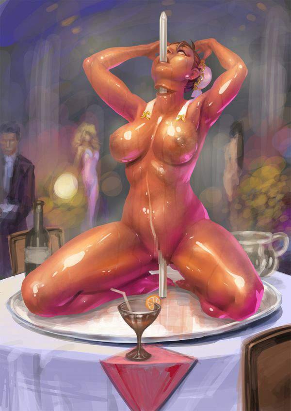 【ガチ勢】真・女体盛りの二次エロ画像【7】