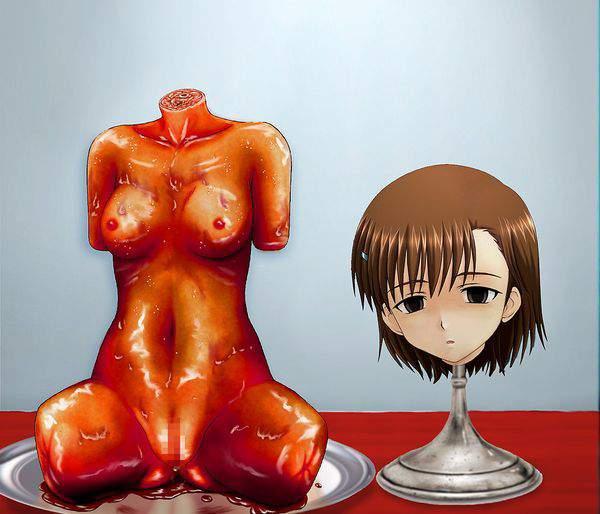 【ガチ勢】真・女体盛りの二次エロ画像【9】