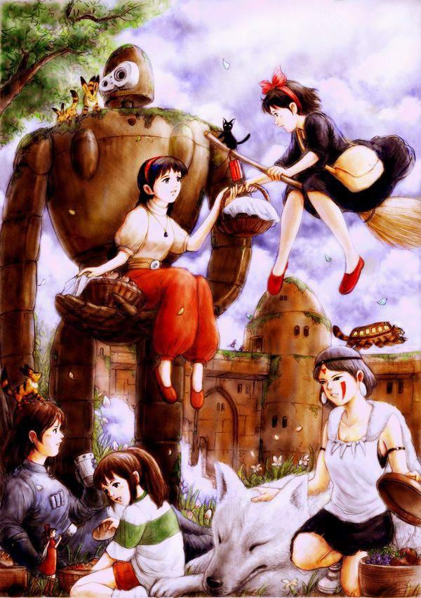 【ジブリ】天空の城ラピュタのエロ画像【30】