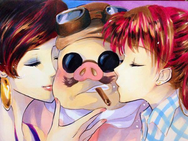 【ジブリ】紅の豚のエロ画像【27】