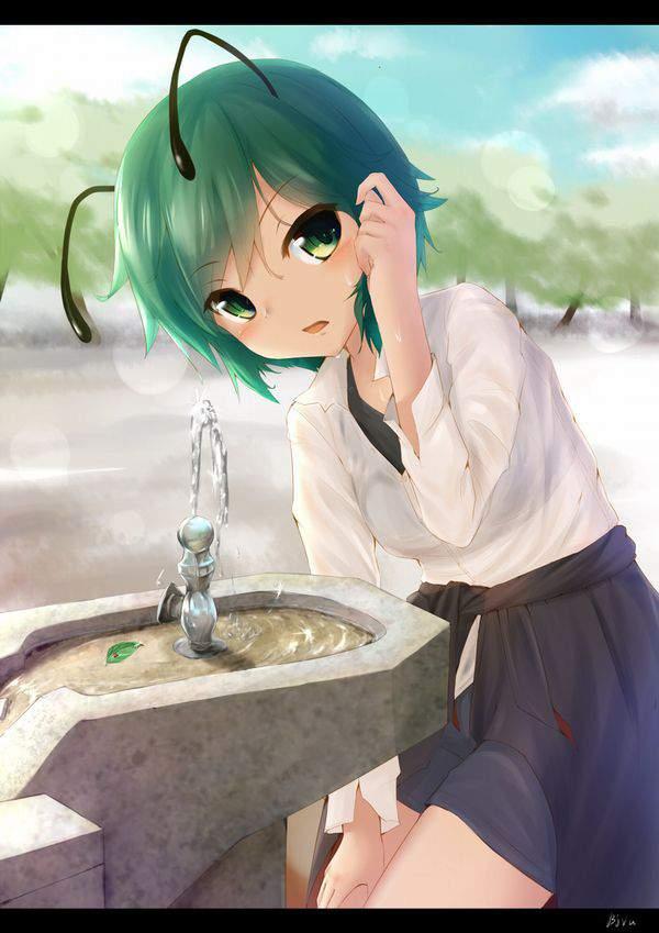 【小学生のドリンクバー】公園等の水飲み場と女子の二次エロ画像【21】