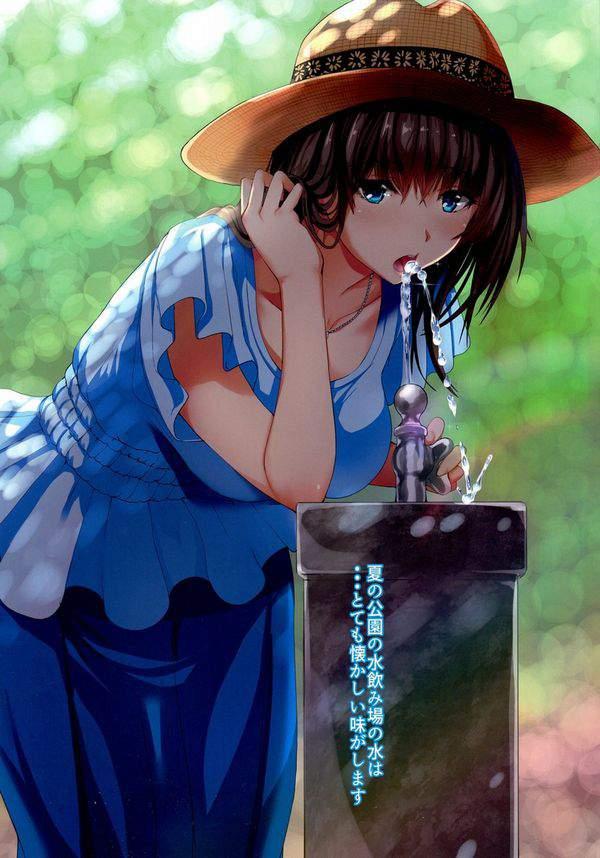 【小学生のドリンクバー】公園等の水飲み場と女子の二次エロ画像【23】