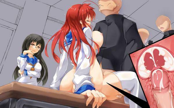 【性春】学校の机の上でセックスしてる二次エロ画像【37】