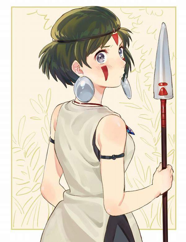 【ジブリ】もののけ姫のエロ画像【27】