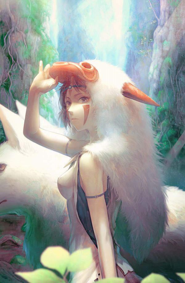 【ジブリ】もののけ姫のエロ画像【36】
