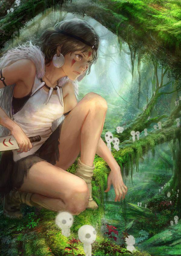 【ジブリ】もののけ姫のエロ画像【40】