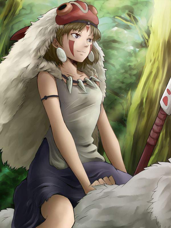 【ジブリ】もののけ姫のエロ画像【44】