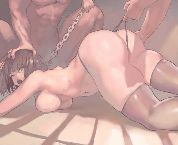 【任務失敗】レイプもしくは拷問直前シチュの二次エロ画像【捕獲成功】【18】