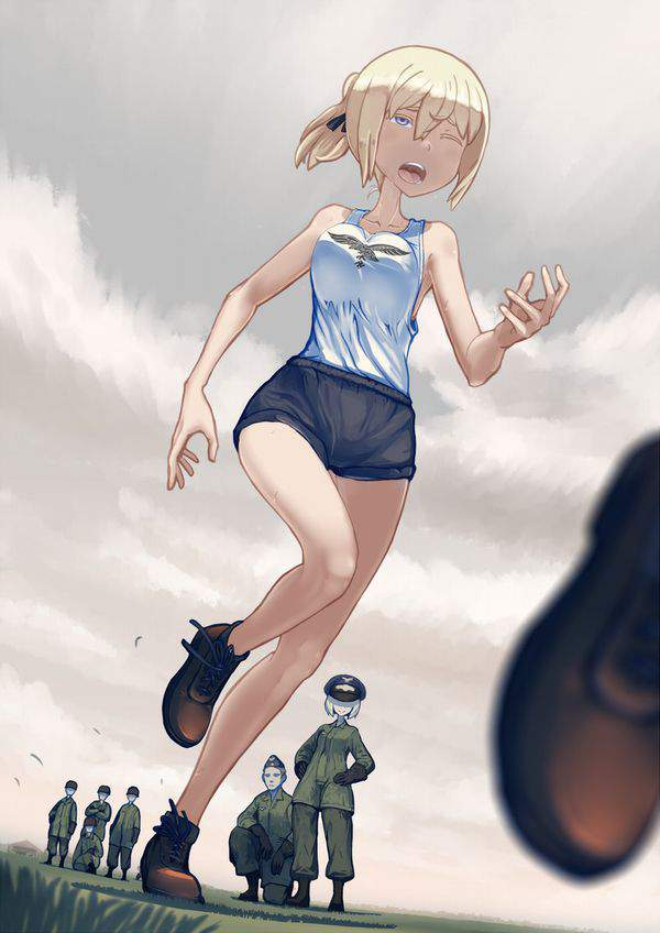 【サクラ吹雪の】汗だくで走る女子達の二次エロ画像【サライの空へ】【25】