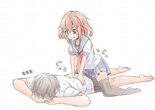 【スペシャルは別料金】女の子にマッサージして貰ってる二次エロ画像【9】