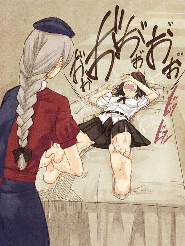 【スペシャルは別料金】女の子にマッサージして貰ってる二次エロ画像【16】
