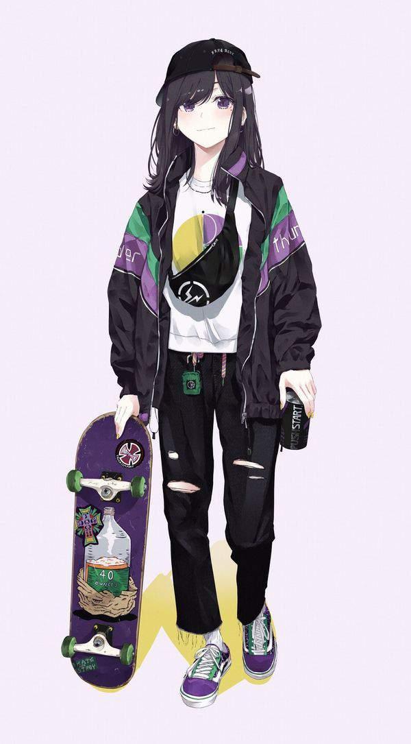 【多分彼氏の影響】スケーターガールの二次画像【10】