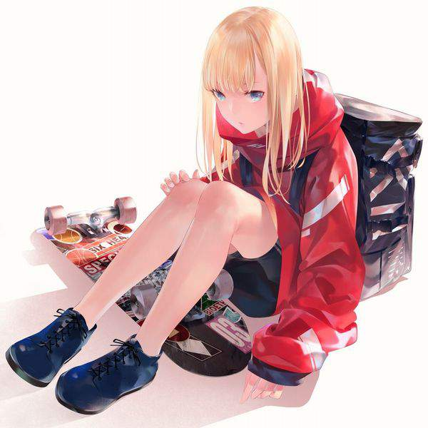 【多分彼氏の影響】スケーターガールの二次画像【18】