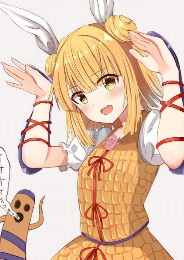 【わんぱく☆パラダイス!?】ウサギさんポーズしてる女の子達の二次エロ画像【25】