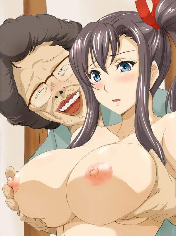 【キモータ】醜い男にエロいことされて嫌そうにしてる二次エロ画像【キモおっさん】【3】