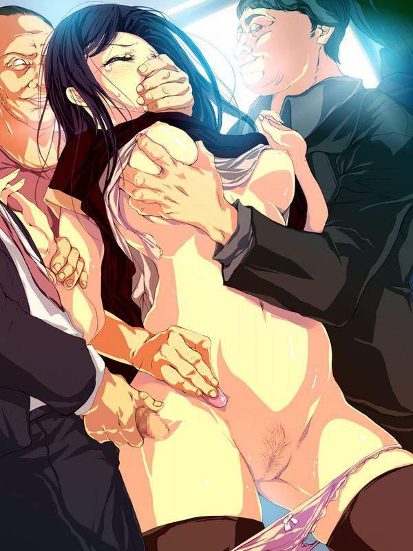 【キモータ】醜い男にエロいことされて嫌そうにしてる二次エロ画像【キモおっさん】【28】