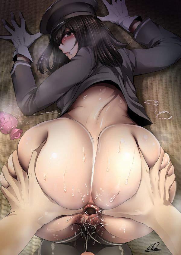 【肛門科医の日常】お尻を開いて肛門を観察される女子達の二次エロ画像【7】