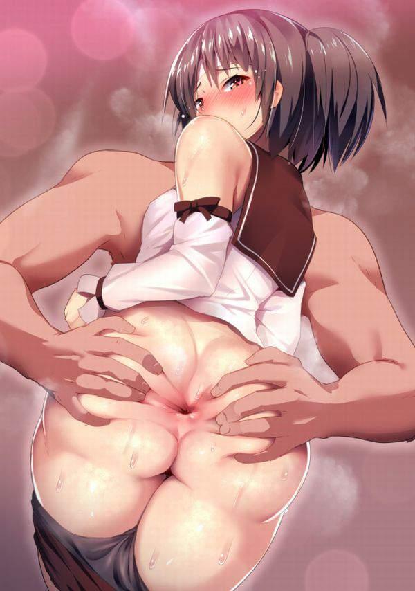 【肛門科医の日常】お尻を開いて肛門を観察される女子達の二次エロ画像【22】