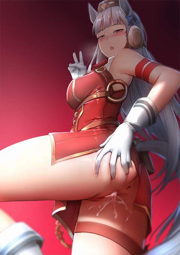 【妊娠記念☆】マンコからザーメン垂らしてピースしてる二次エロ画像【35】