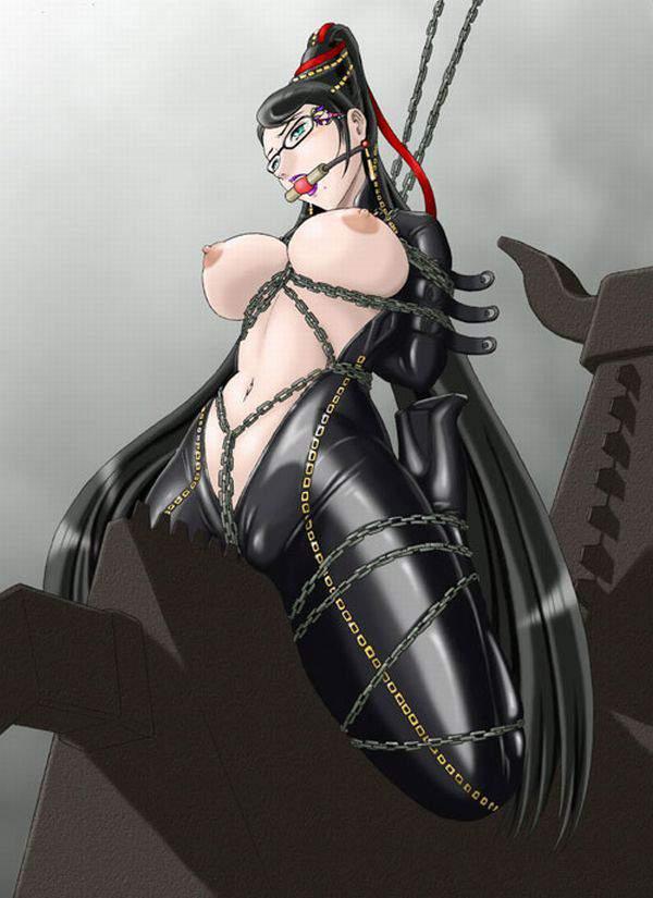 【遊びじゃないんだよ!】拷問で三角木馬に乗せられてる女子達の二次エロ画像【27】