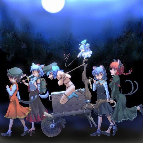 【遊びじゃないんだよ!】拷問で三角木馬に乗せられてる女子達の二次エロ画像【28】