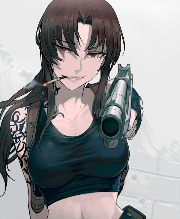 【ブラックラグーン】レヴィ(レベッカ・リー)のエロ画像【BLACKLAGOON】【29】