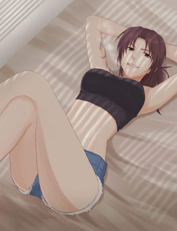 【ブラックラグーン】レヴィ(レベッカ・リー)のエロ画像【BLACKLAGOON】【46】