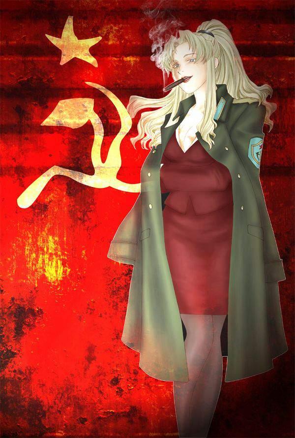 【ブラックラグーン】バラライカ(ソーフィヤ・イリーノスカヤ・パブロヴナ)のエロ画像【BLACKLAGOON】【49】